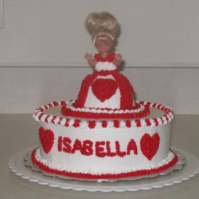 Heart Mini Doll Cake