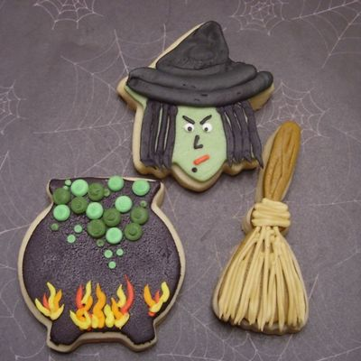 Witch's Brew on Cake Central