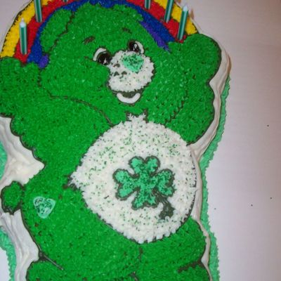 Lucky Care Bear Cake on Cake Central