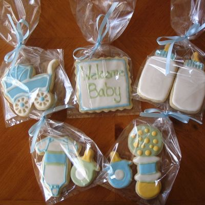 Cookies To Welcome New Baby!