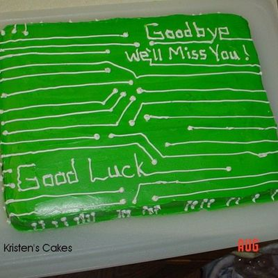 Rich's Going Away Cake