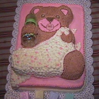 """baby's Security Blanket"" Cake"