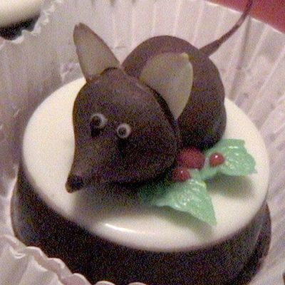 Newest Christmas Mouse Cookie