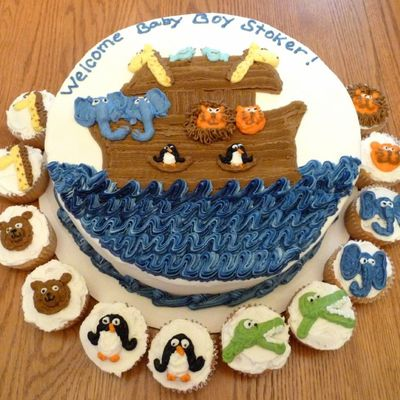 Noah's Ark With Cupcakes