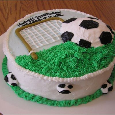 Cake Decorating Ideas For Soccer : Top Soccer Cakes - CakeCentral.com