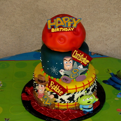 Toy Story Cake For Two!