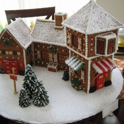 Santa's Village Gingerbread House