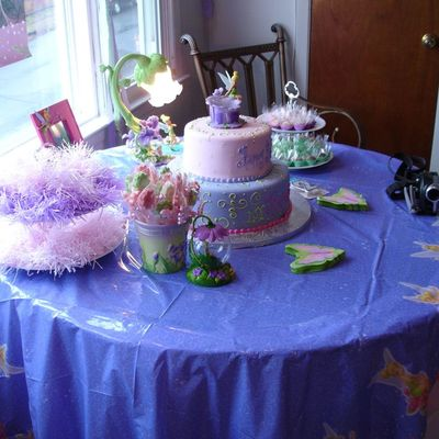Tinkerbell Cake - Another View
