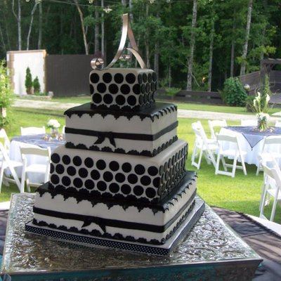 Ashley's Wedding Cake