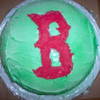 Father's Day Red Sox Cake