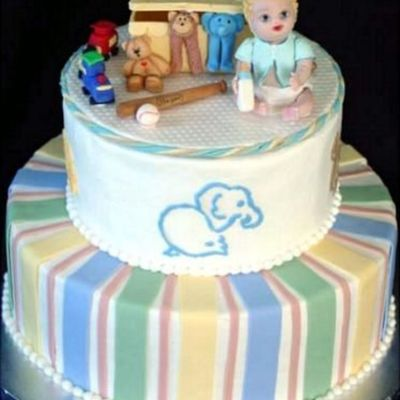 Toy Box Baby on Cake Central
