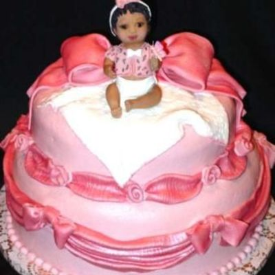 Sitting Baby on Cake Central