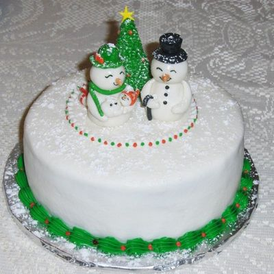 Christmas Cake For New Parents