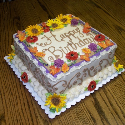 Stupendous Fall Cakes Photos Funny Birthday Cards Online Elaedamsfinfo