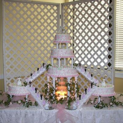 Quinceanera Cake Decorating Photos
