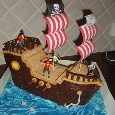 Top Pirate Party Cakes - CakeCentral.com