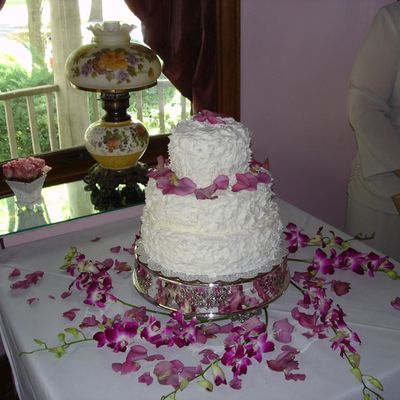 Chris & Audrey's Wedding Cake