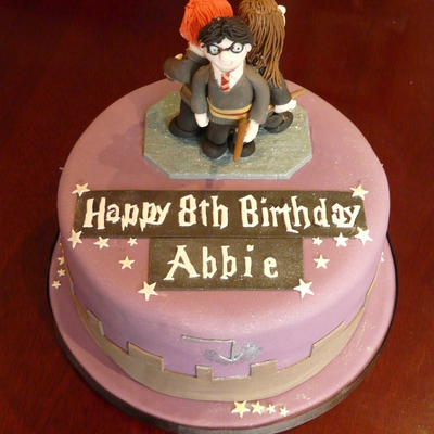 Abbies Harry Potter Birthday Cake