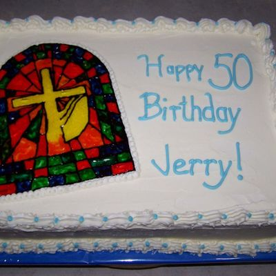 Stained Glass Birthday