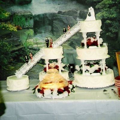 Matt & Jolene's Wedding Cake