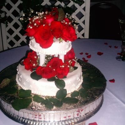 A Small Wedding Cake