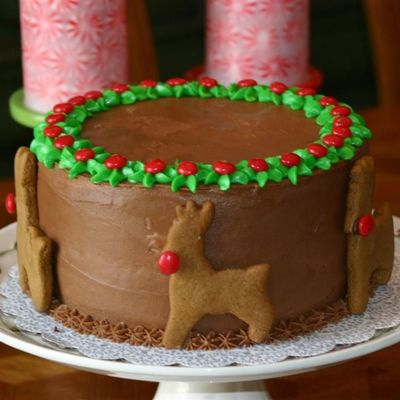 Chocolate Holiday Cake