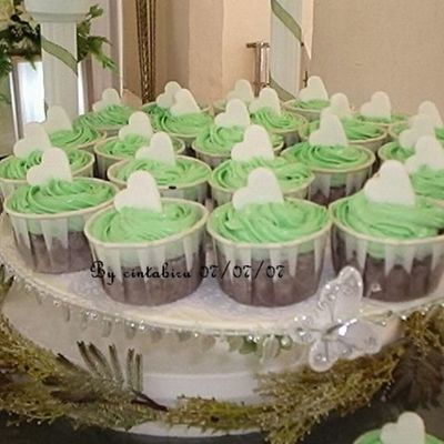 Green Cuppies on Cake Central