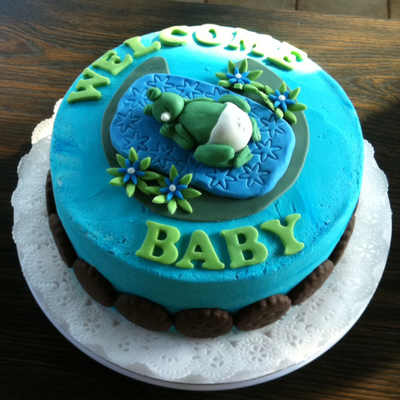 Frog Baby Shower