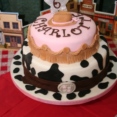 Wild West Cowgirl Cake