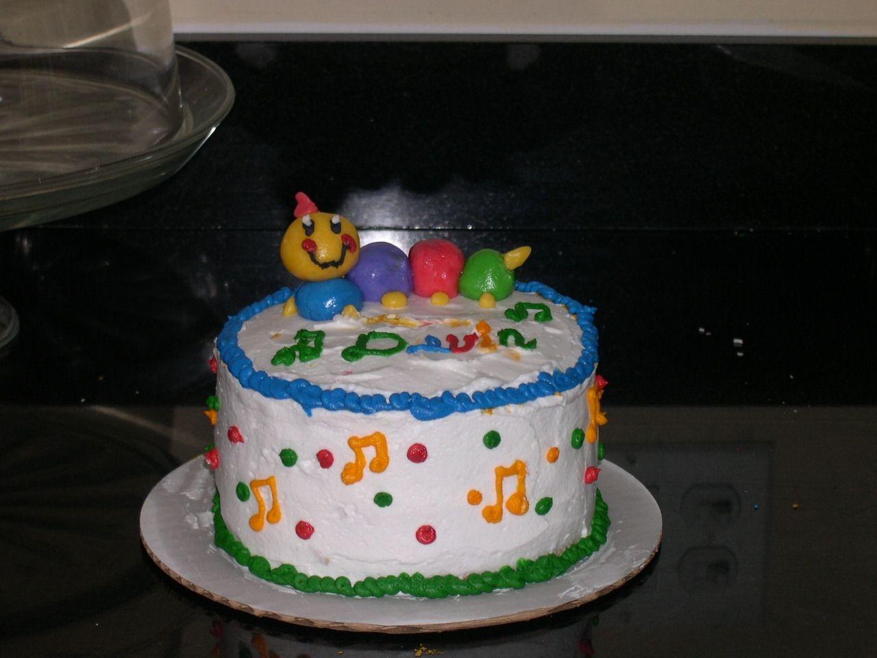 Baby Einstein 1St Birthday Smash Cake