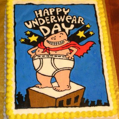 Captain Underpants on Cake Central