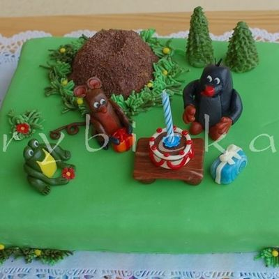 Krtecek Mole Is A Character From Czech Animated Fairy Tales Frog And Mouse Are His Frinds
