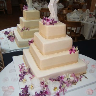 Purple Orchid on Cake Central