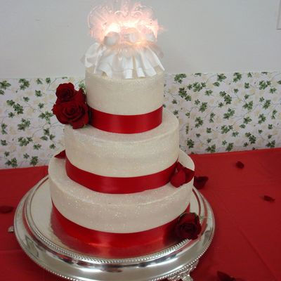 Parents Anniversary/ Wedding Cake