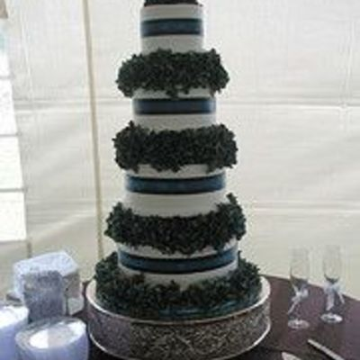Spearman/saxon Wedding Cake