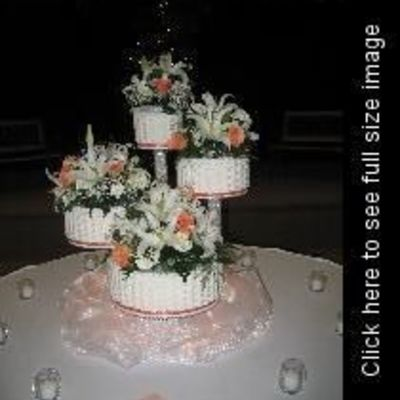 March Wedding Cake