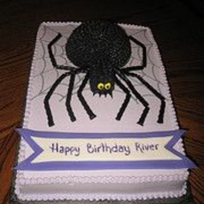 Spider Birthday