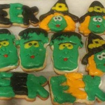 Witches & Frankenstein on Cake Central