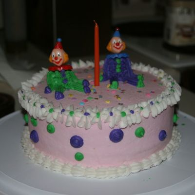 Wilton Clown Cake