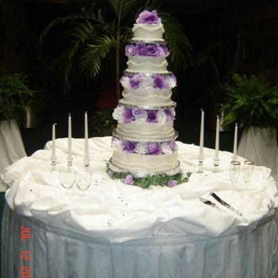 Marsha's Wedding Cake