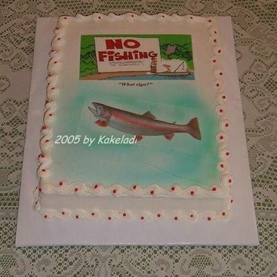 Fishing For Retiree on Cake Central