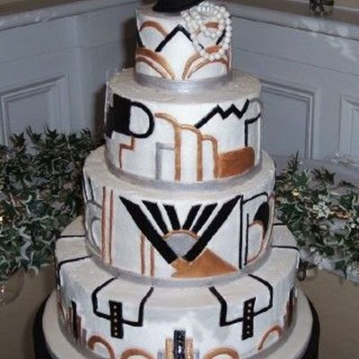 Art Deco Cake Decorations : Top Art Deco Cakes - CakeCentral.com