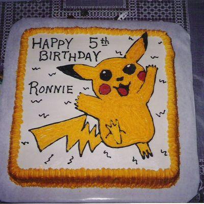 Magnificent Pokemon Cake Decorating Photos Funny Birthday Cards Online Alyptdamsfinfo