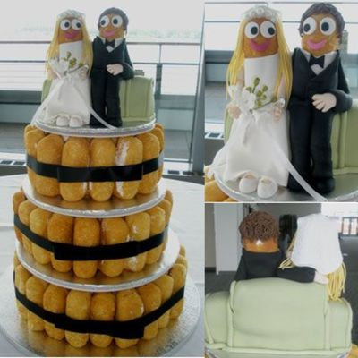 Twinkie Wedding Cake