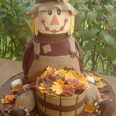 Ace Of Cakes Totally Awesome Cake Challenge/scarecrow