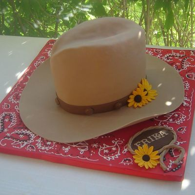 Cowgirl Hat on Cake Central