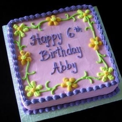 Abby's Ice Cream Cake on Cake Central