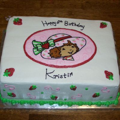 Strawberry Shortcake For Kristin