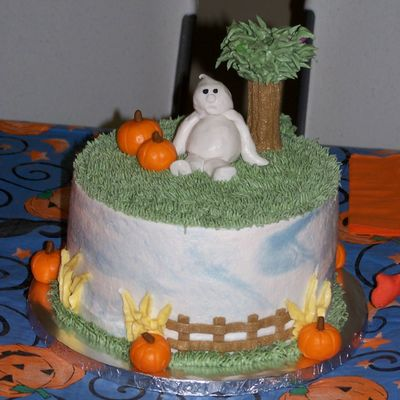 Halloween Cake For Oct. B-Days