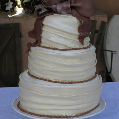 Chocolate And Ivory Wedding